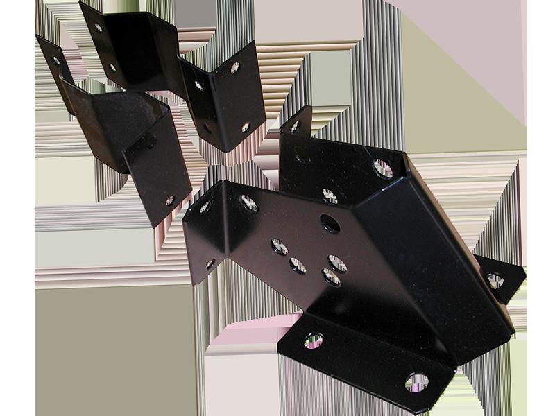 Infrared Heating Post Mount Bracket Kit